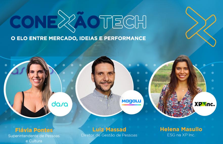 Vem aí a primeira edição do Conexão Tech, um evento que reunirá grandes líderes do segmento de tecnologia para debater insights e trocar ideias.