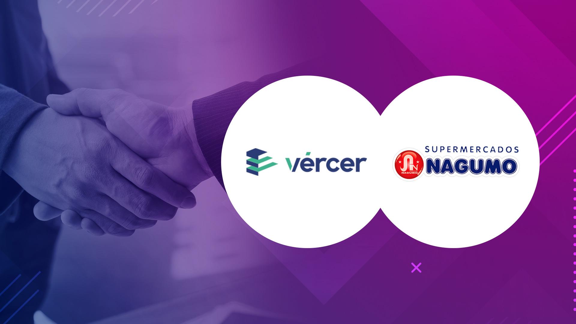 Vércer fecha super parceria com o Supermercado Nagumo