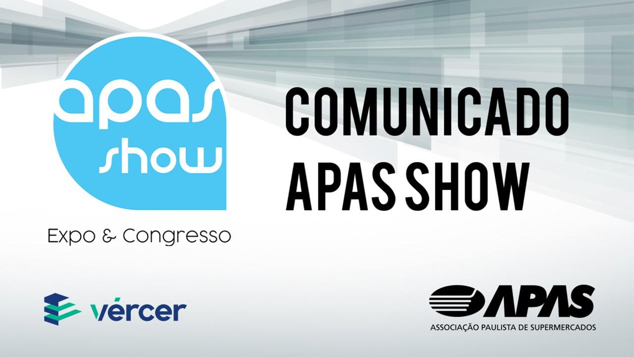 Comunicado Oficial APAS Show